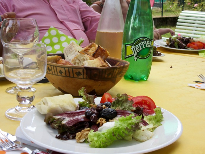 A lunch in Lyon, France