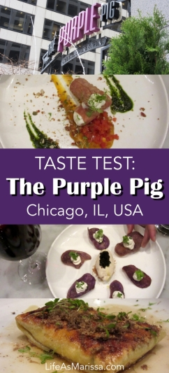 Restaurant Review: The Purple Pig, Chicago, Illinois