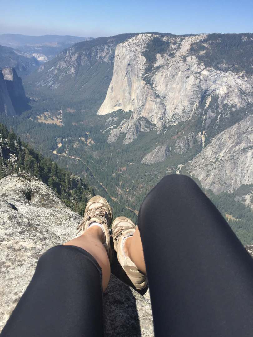 Best views of Yosemite: the Taft Point and Sentinel Dome Hike in Yosemite National Park