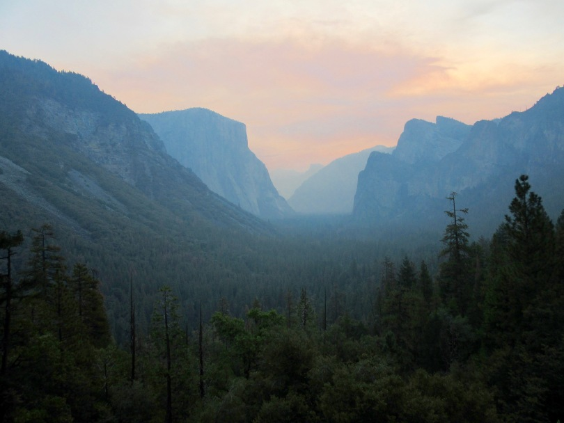Yosemite Tunnel View Sunrise